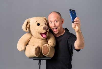 Publicity: Dave & Ted Selfie - Adam Shane Photography